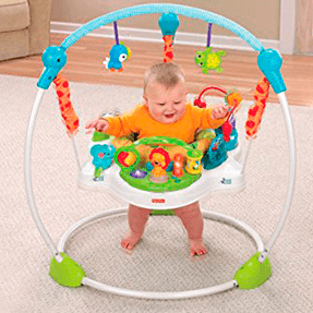 Jumperoo Precious Planet Blue - Fisher Price