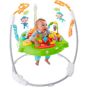 Jumperoo Hora do Tigre - Fisher Price