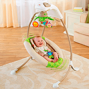 Cadeira Basculante Floresta Tropical Deluxe - Fisher Price