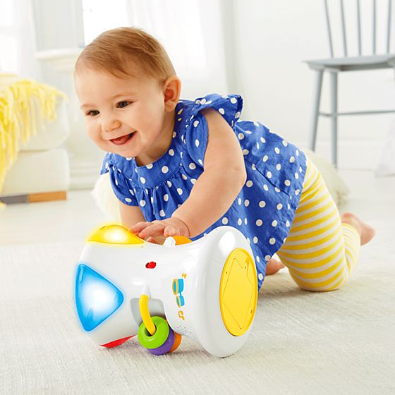 Tambor Cores e Sons 2 em 1 - Fisher Price