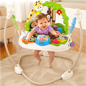 Jumperoo Go Wild - Fisher Price